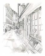 European City Sketch VI