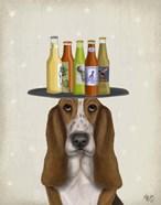 Basset Hound Beer Lover