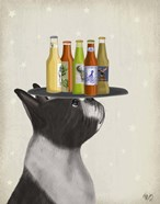 Boston Terrier Beer Lover