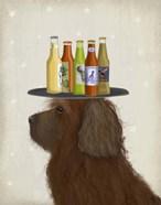 Labradoodle Brown 2 Beer Lover