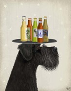 Schnauzer Black Beer Lover