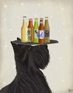 Scottish Terrier Beer Lover