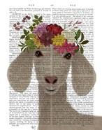 Goat Bohemian 2 Book Print