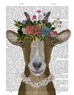 Goat Bohemian 3 Book Print