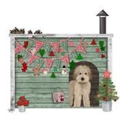 Christmas Des - Christmas Kennel - Homespun