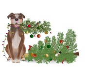 Christmas Des - Broken Tree