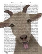 Funny Farm Goat 2 Book Print