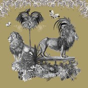 Livoris Feritas Lion Design, Square
