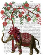 Niraj Elephant, Red Tree