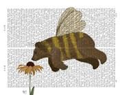 Bear Bee Book Print