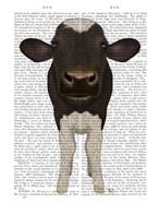 Nosey Cow 2 Book Print