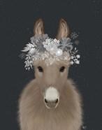 Donkey White Flowers