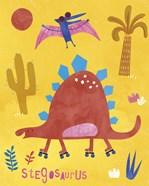 Skating Stegosaurus