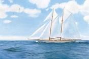 Majestic Sailboat