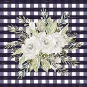Navy Floral II