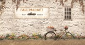 Fall Market with Bike