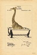 Giraffe in Tub