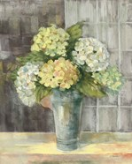 Yellow Hydrangea Gray