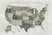 Slate US Map