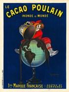 Le Cacao Poulain Inonde le Monde, 1911