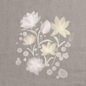 Flower Bunch on Linen II