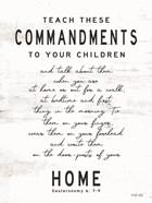 Teach These Commandments