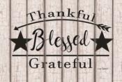 Blessed Thankful Grateful