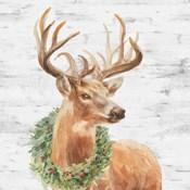 Woodland Holidays Stag Gray