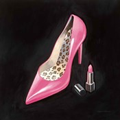 The Pink Shoe II Crop