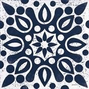 Blue and White Tile IV