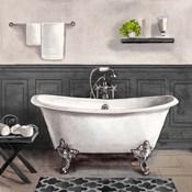 Serene Bath II black & white