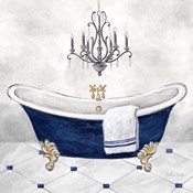 Navy Blue Bath II