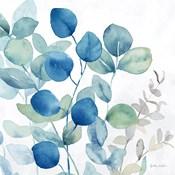 Eucalyptus Leaves Navy I
