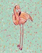Flamingo Portrait I