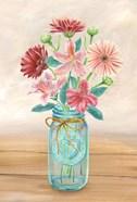 Floral Jar I
