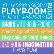 Playroom Rules I