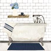 Farmhouse Bath I Navy-Tub