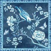 Chinoiserie Tile Blue I