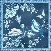 Chinoiserie Tile Blue II