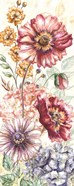 Wildflower Medley Panel Cream I