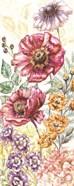 Wildflower Medley Panel Cream II