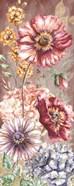 Wildflower Medley Panel Gold I
