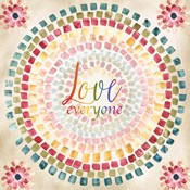 Mosaic Rainbow Round II
