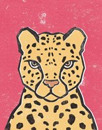 Jungle Cat Hot Pink