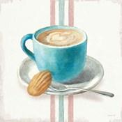 Wake Me Up Coffee I with Stripes