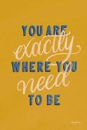 Encouraging Words - Exactly