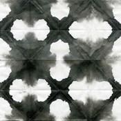 Aquarelle Black and White Square XIII