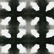 Aquarelle Black and White Square III