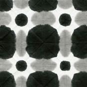 Aquarelle Black and White Square I