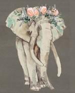 Flower Crown Elephant I